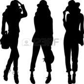 silhouette-des-filles