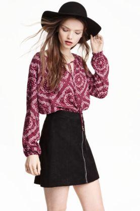 blouse bohème hm