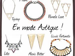 article jupe aztèque bijoux 6