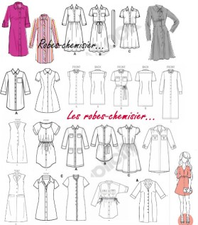 article robe chemise