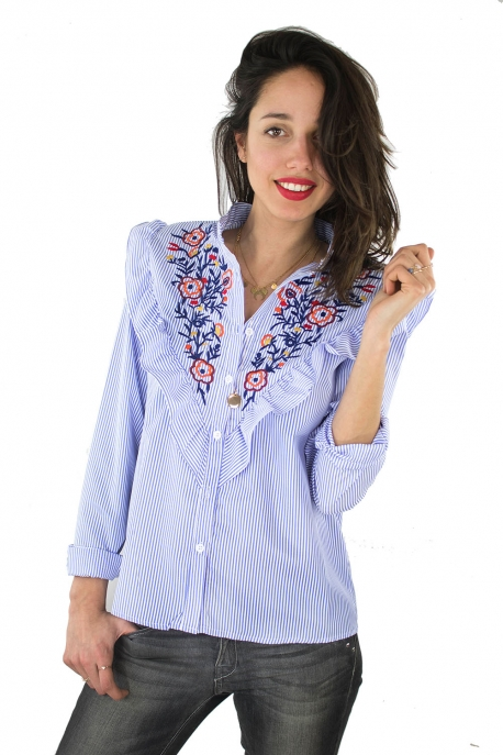 article-wl-chemise-brodees-fleurs