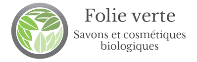 Article savons Folie verte logo