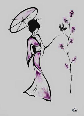 le kimono la pi ce tendance pour un look japonisant et. Black Bedroom Furniture Sets. Home Design Ideas