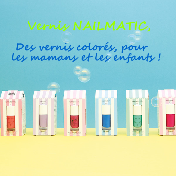 Article vernis Nailmatic