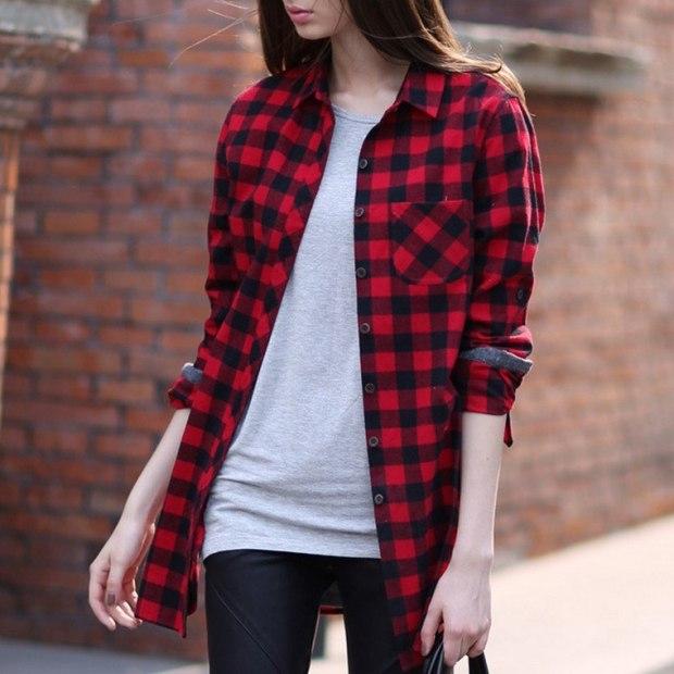 Article carreaux chemise