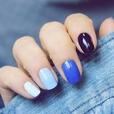 Photo couleur bleue