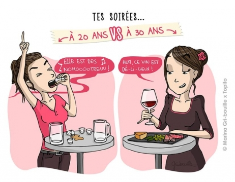 Article 30 ans humour