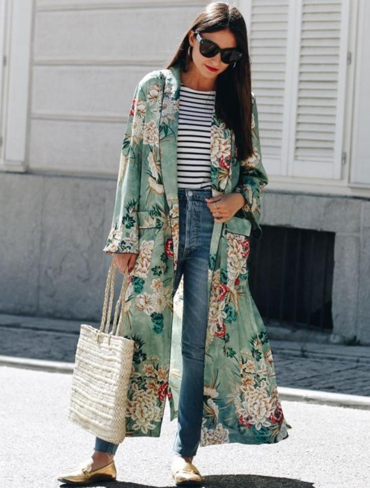 Article 3 façons de porter la marnière photo kimono