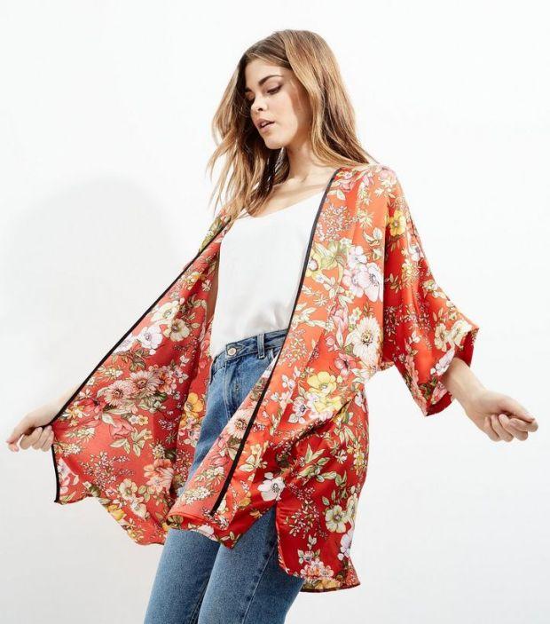 Article bonjour le printemps kimono