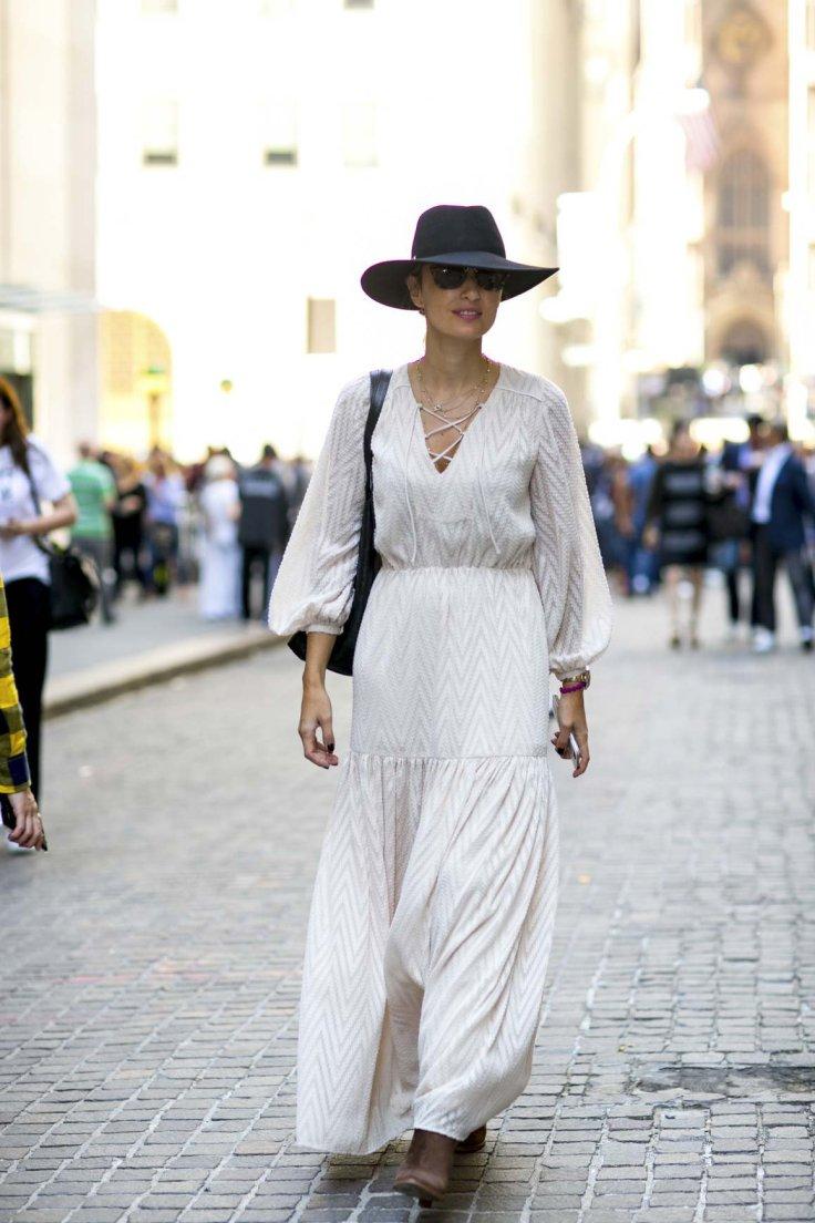 Article look bohème longue robe photo 2