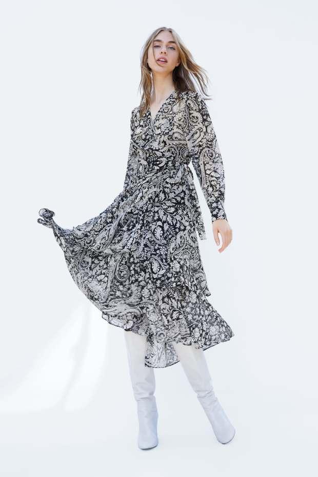 Article robe d'automne zara