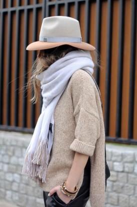 Article une écharpe 2 façons de la porter photo 7