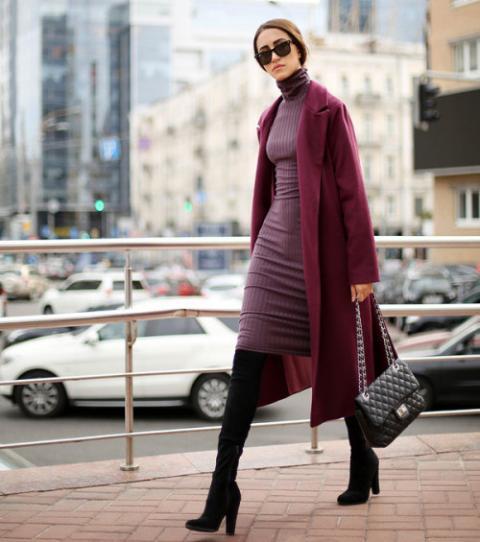 Article 5 façons de porter le manteau long photo 2