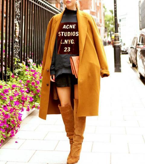 Article 5 façons de porter le manteau long photo 3
