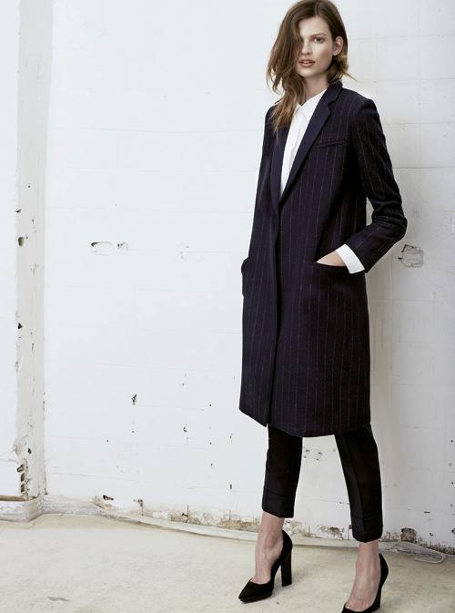 Article 5 façons de porter le manteau long photo 4