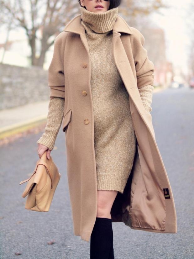Article 5 façons de porter le manteau long photo 5